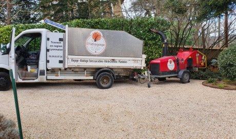 Besoin d'un élagueur Lyon pour broyage de déchets végétaux